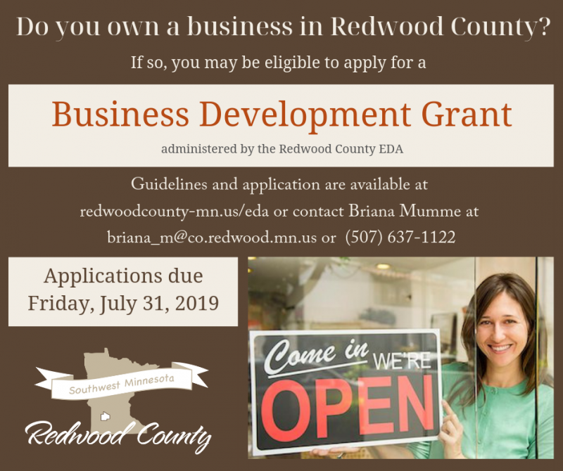 Redwood County Business Development Grant